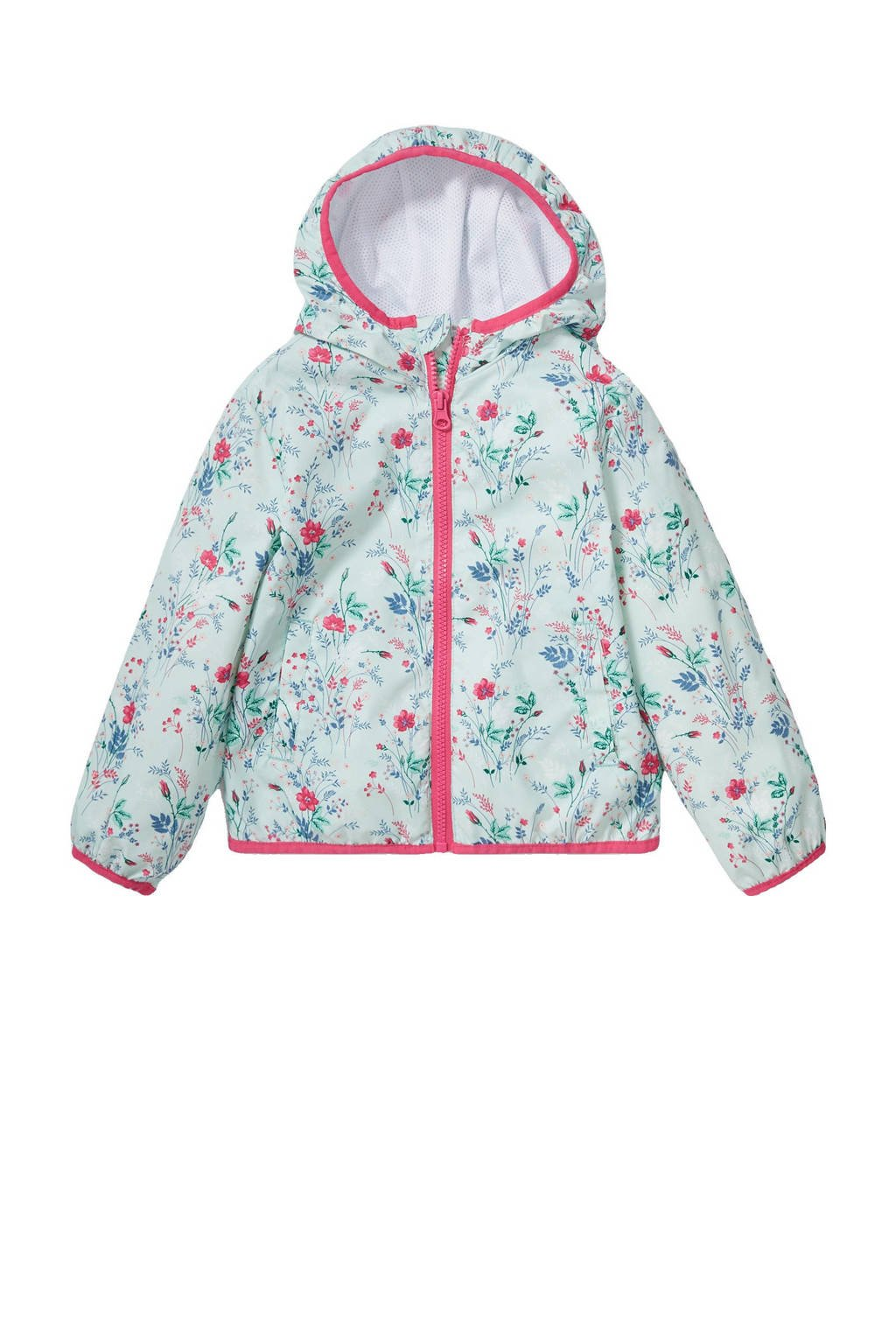 C&A Palomino  zomerjas met all over print mintgroen/roze, Mintgroen/roze