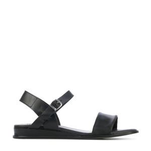 79370  leren sandalen zwart