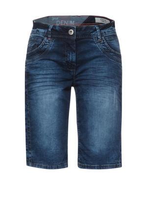 loose fit bermuda jeans Scarlett blauw