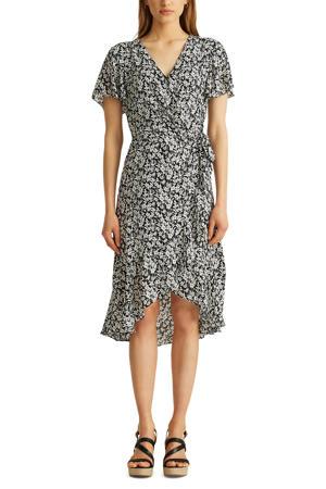 jurk TORLYNN met all over print zwart/ecru
