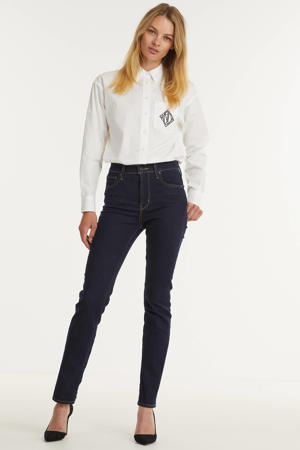 blouse BRAWLEY met printopdruk wit