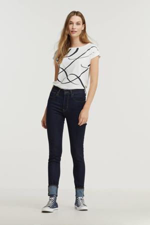 T-shirt GRIETA met printopdruk wit