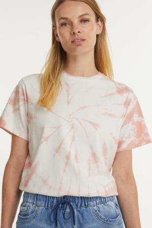 tie-dye T-shirt GRAPHIC JET TEE ecru/beige