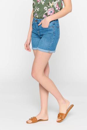 skinny jeans short blauw