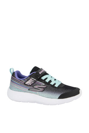 sneakers zwart/paars