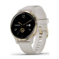 Garmin Venu 2S smartwatch (light gold)