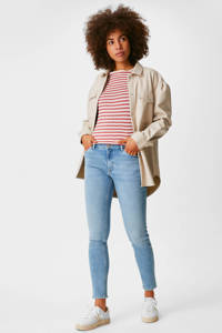 C&A The Denim skinny jeans met biologisch katoen lichtblauw, Lichtblauw