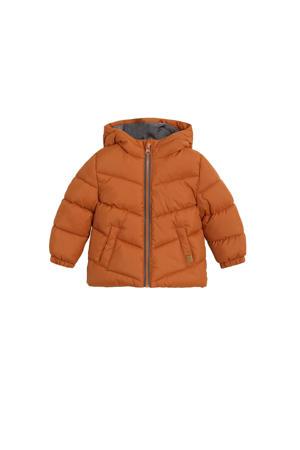 anorak winterjas oranje
