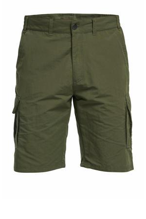 korte outdoor broek Thad kaki