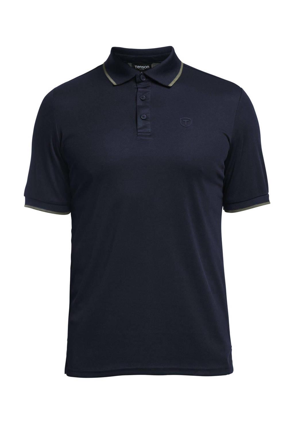 Tenson outdoor polo Wedge donkerblauw, Donkerblauw