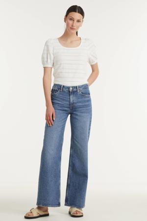 high waist flared jeans JANE blue used