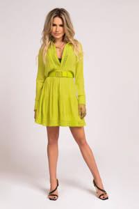 NIKKIE A-lijn jurk Summer met kant geel, Geel
