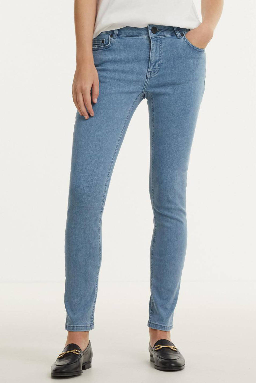 NIKKIE high waist skinny jeans Betty lichtblauw, Lichtblauw