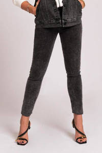 NIKKIE skinny jeans Billie-Sue black acid wash