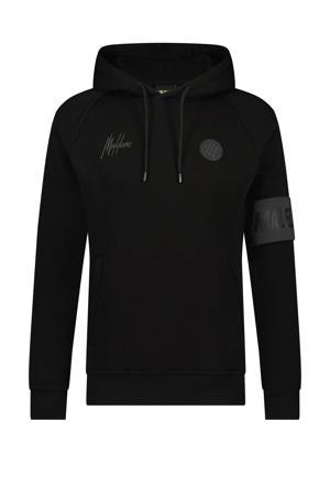 hoodie Coach zwart/antraciet