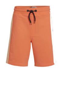 Raizzed regular fit sweatshort Recife oranje/pastel perzik, Oranje/pastel perzik