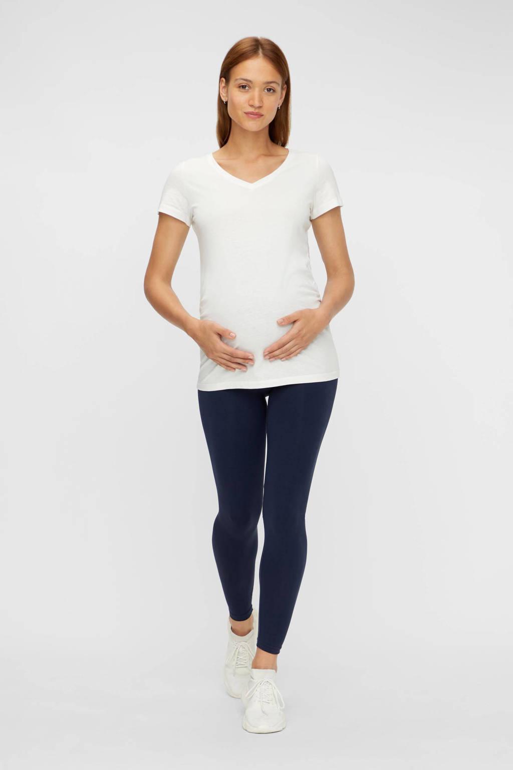 MAMALICIOUS skinny zwangerschapslegging MLTIA donkerblauw, Donkerblauw