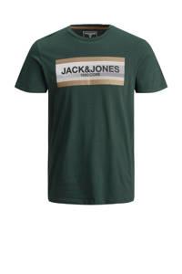JACK & JONES CORE T-shirt Booster met printopdruk groen, Groen