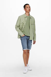 ONLY & SONS overshirt, Groen
