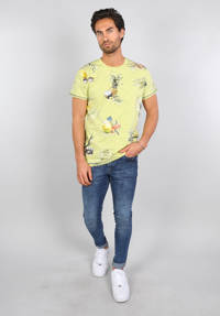 GABBIANO T-shirt met all over print lime, Lime