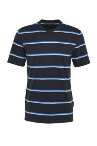 ONLY & SONS gestreept T-shirt Mario donkerblauw, Donkerblauw
