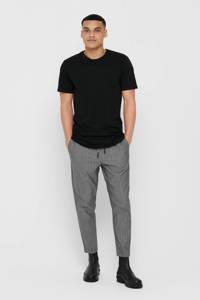 ONLY & SONS T-shirt Matt zwart, Zwart