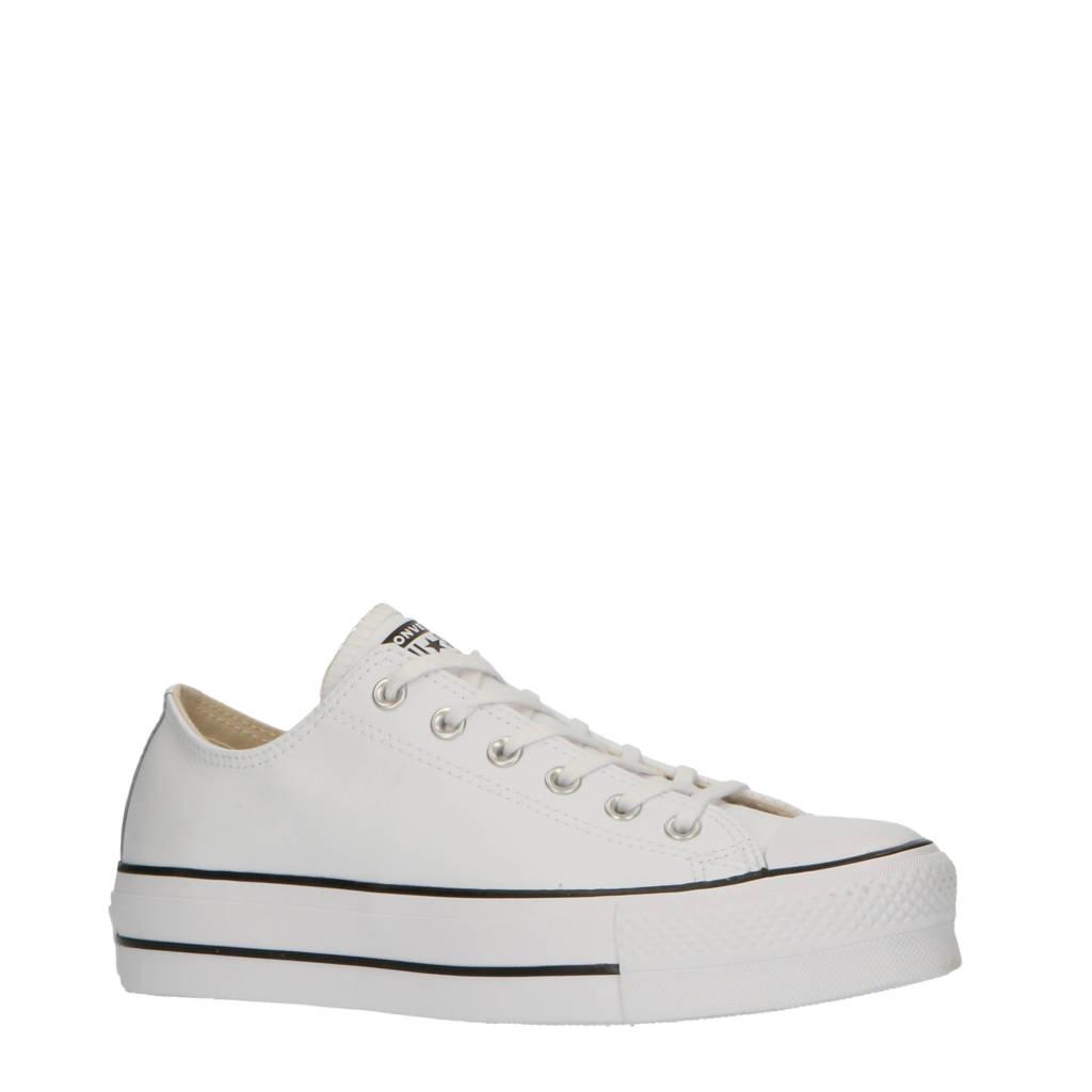 Converse Chuck Taylor All Star Lift sneakers wit/zwart, Wit/zwart