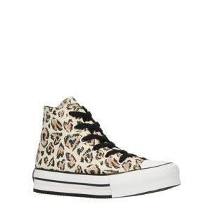Chuck Taylor All Star Eva HI sneakers ecru/camel/zwart