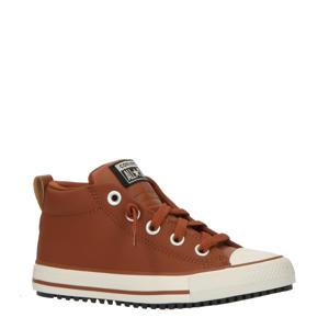 Chuck Taylor All Star Street Boot sneakers bruin/zwart