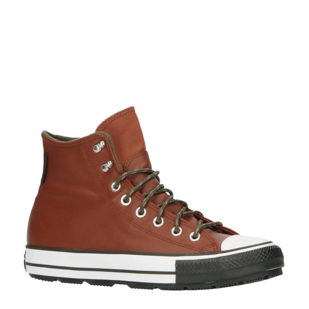 Converse Chuck Taylor All Star Winter  sneakers bruin/wit/zwart, bruin/zwart/wit