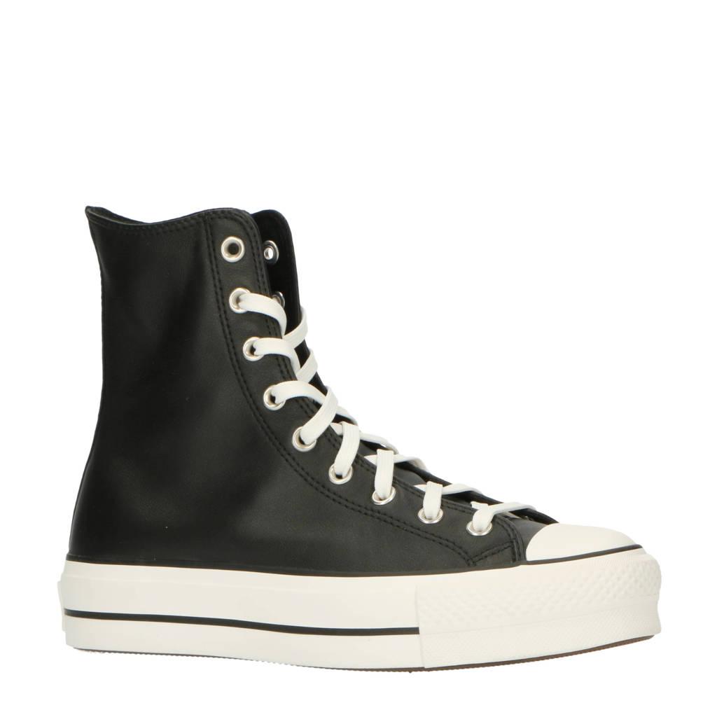 Converse Chuck Taylor All Star Lift Extra High sneakers zwart/wit, Zwart/wit