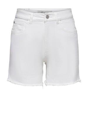 high waist jeans short JDYOLIVIA wit