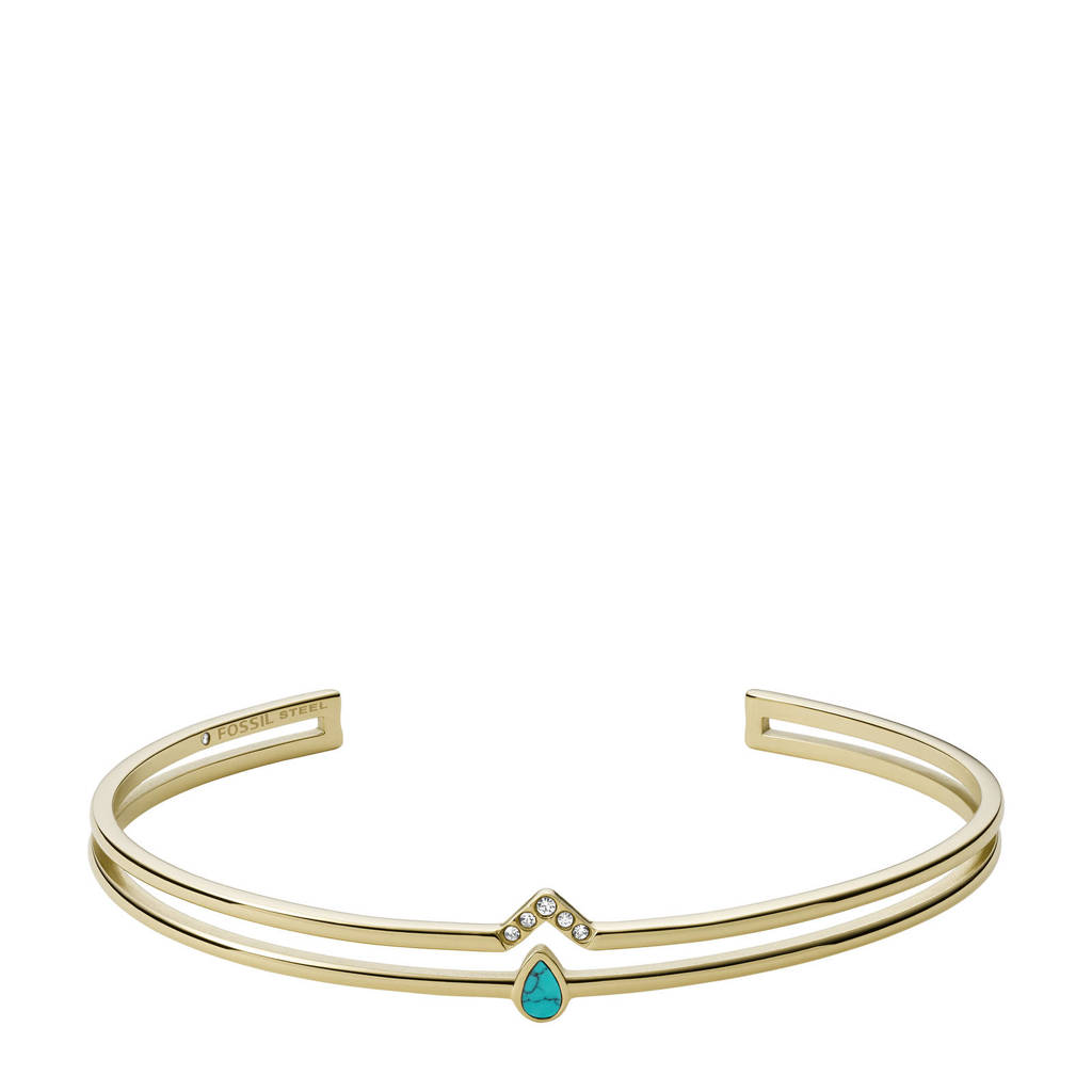 Fossil armband JF03732710 Fashion goud, Goud