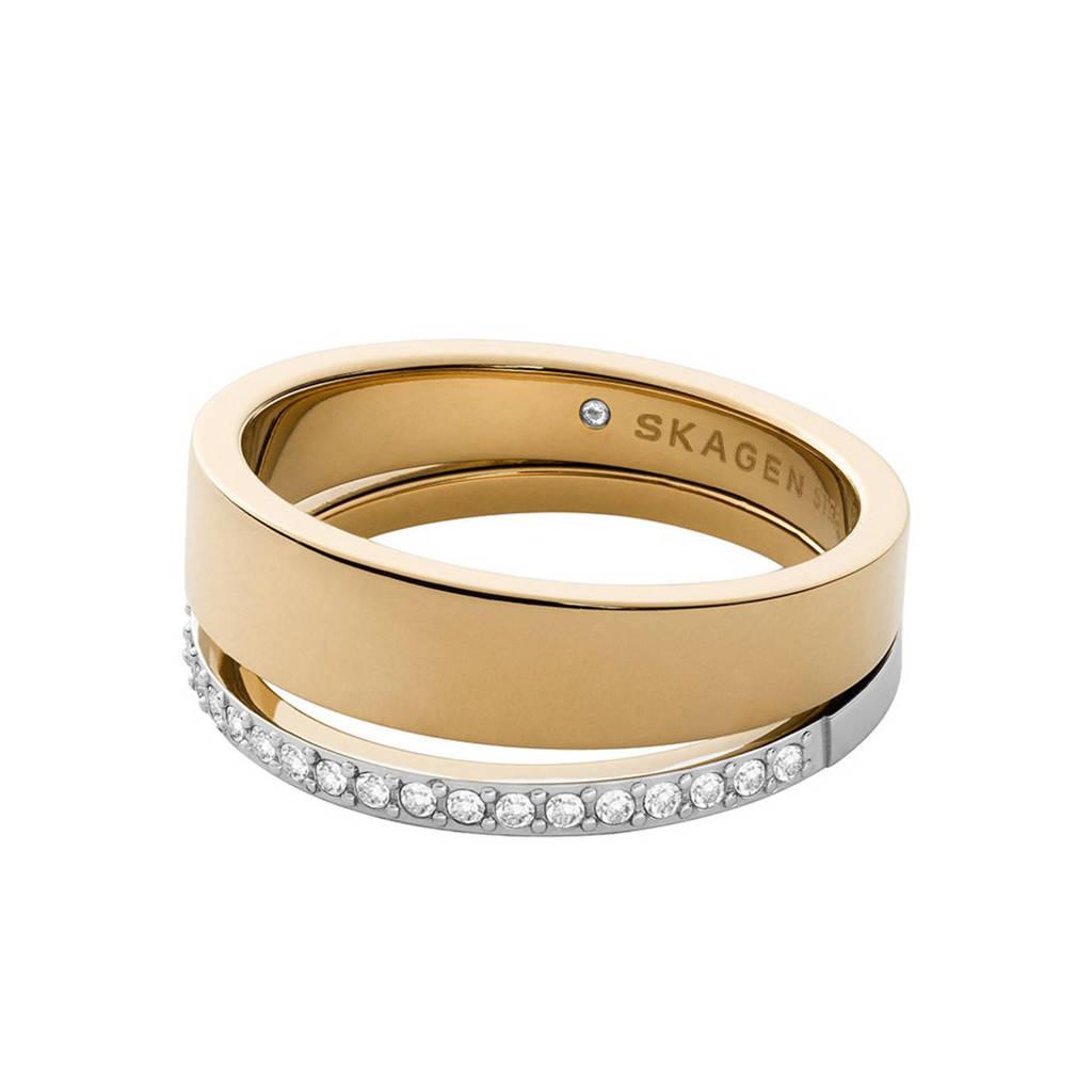 Skagen ring SKJ1451998 Elin goud, Goud