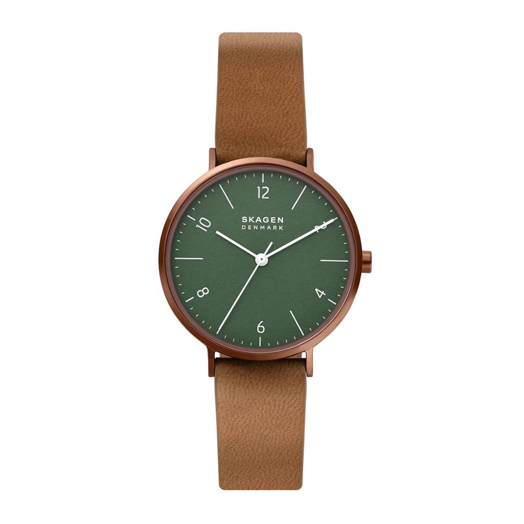 Skagen horloge SKW2973 Aaren Naturals Koper, Bruin/koper