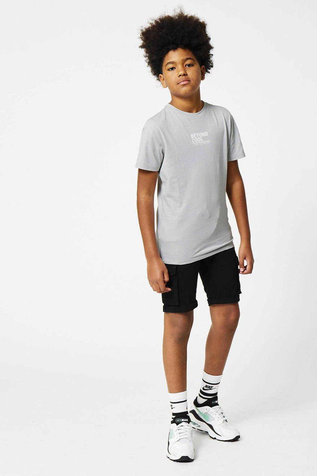 CoolCat Junior cargobermuda Nouri zwart, Zwart