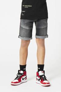 CoolCat Junior slim fit jeans bermuda Nils  washed grey, Washed grey