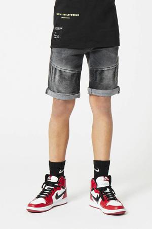 slim fit jeans bermuda Nils  washed grey