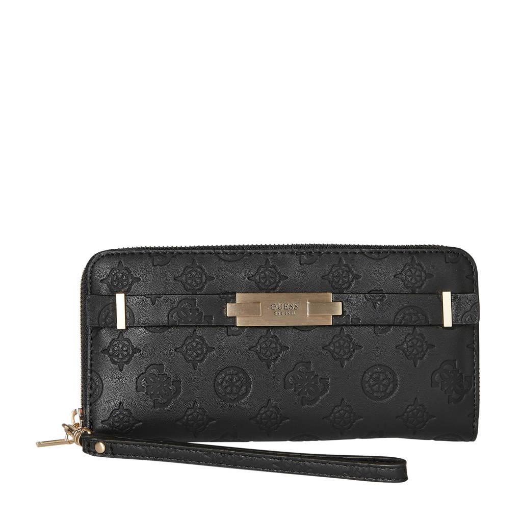 GUESS portemonnee Bea zwart, Zwart