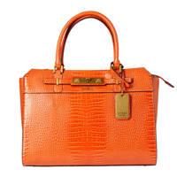 GUESS  handtas Raffie oranje, Oranje