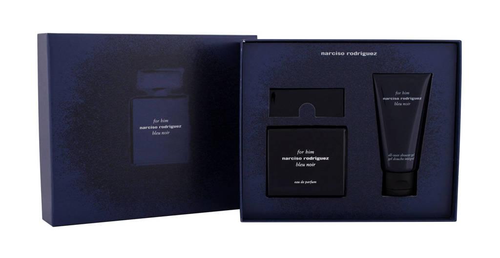 Narciso Rodriguez For Him Bleu Noir eau de parfum 50 ml + douchegel 50 ml