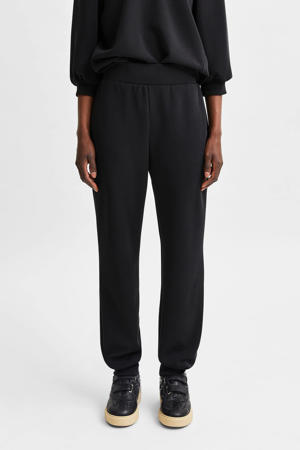 straight fit broek SLFTENNY zwart