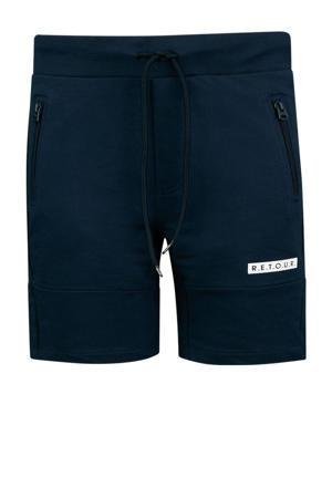 regular fit sweatshort Perry donkerblauw
