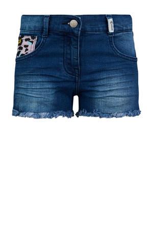 slim fit jeans short Trees vintage blue denim