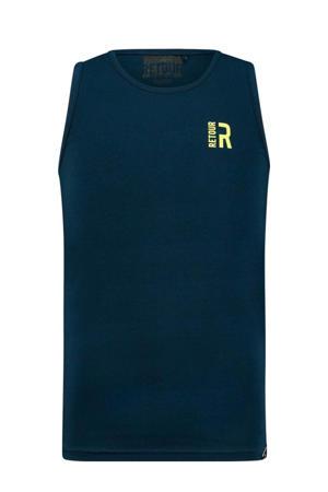 mouwloos T-shirt Mika donkerblauw