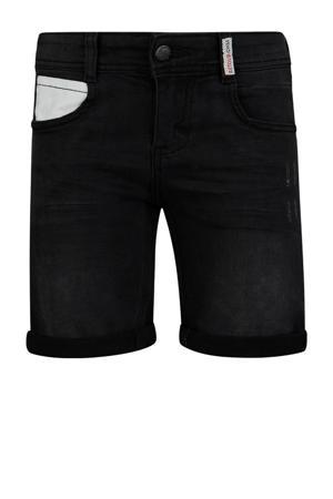 regular fit jeans bermuda Edmundo black denim