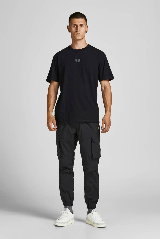 JACK & JONES CORE T-shirt JCOCLASSIC - (set van 2), Zwart/wit