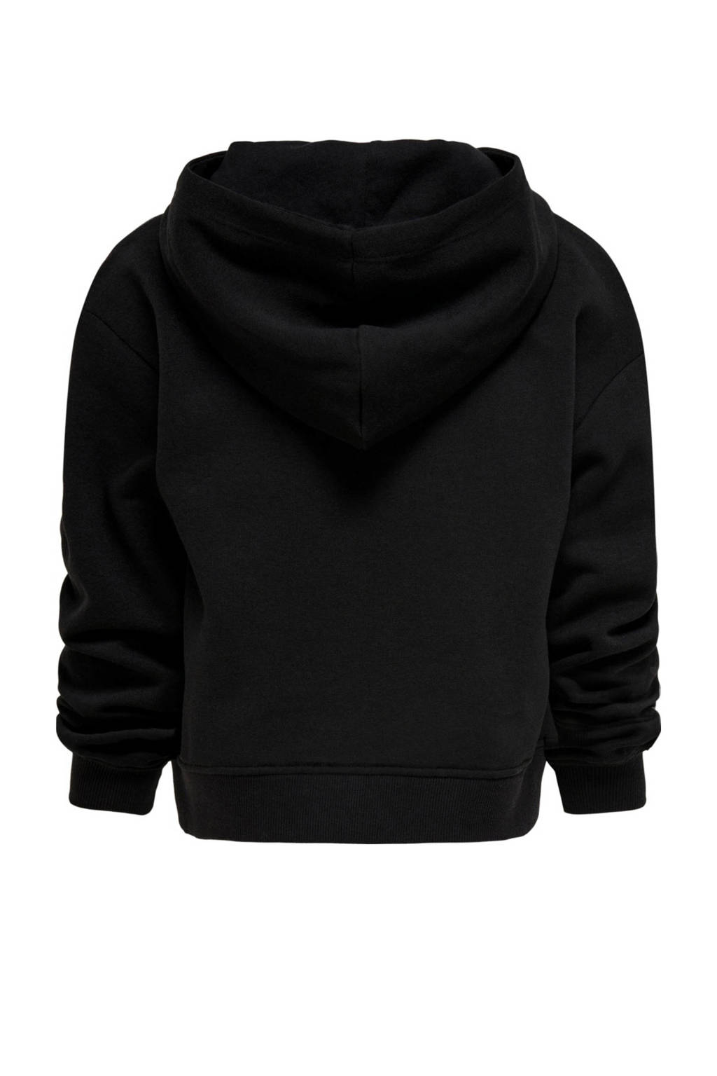 KIDS ONLY sweater College met tekst zwart/wit, Zwart/wit