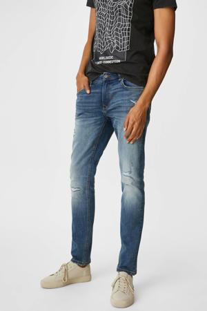 slim fit jeans blauw/vintage