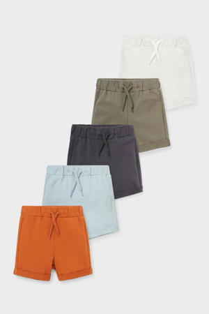 sweatshort - set van 5 multi color